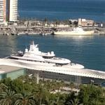 Marina from rooftop pool