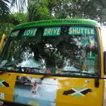 Google the One Love Bus and they will come pick you up for free and take you to local bars. Some