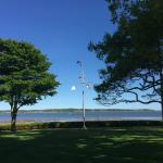Grounds with views of the water