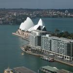 View of the Opera House from the room