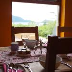 View of Loch Nevis from the dining room