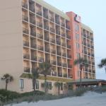 SurfsideBeach Resort in the early morning