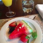 Breakfast - Before the main course