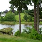 Ballathie House Hotel - view from room balcony