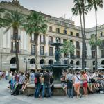 Hotel Do Facing Placa Reial