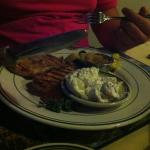 Pork Special [ My 17 year old did not appreciate the dill in the potato salad, but his palette w