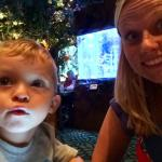 Lunch at Rainforest cafe