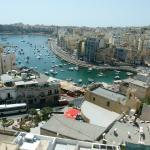 Looking towards Spinola Bay from hotel rooftop