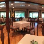 The dining room - where we ate the best blueberry muffins!