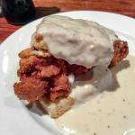 Fried Chicken Biscuit with Gravy