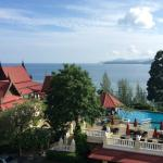 View from our room (Deluxe seaview)