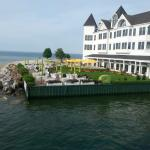 Hotel Iroquois from Ferry