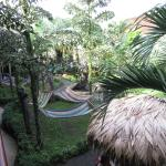 Courtyard at Arenal Hostel Resort