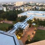 A view from the room in Taj Krishna in Hyderabad