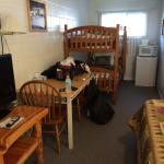 We stayed 1 night and the room was clean, comfortable, very affordable and we would absolutely s