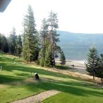 Little Shuswap Lake - view from room