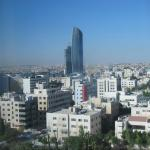 View of Amman from our rooom