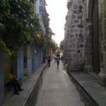 Streets in Cartagena