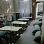 Lobby, breakfast area, and outdoor area