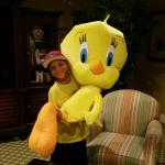 Tweety and friend