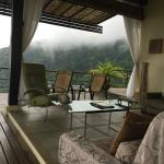 Living room in the cloud forest.
