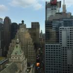 View from our corner room on 34th floor. Room 3439.