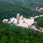 Hot Springs, AR from the National Park Tower