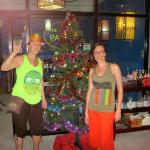 NYE, before we went to the Full Moon Party in Had Rin, the lobby of Blue Parrot