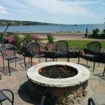New Outdoor Patio View of Lake Superior