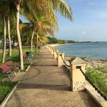 Ocean walk in Frederiksted