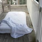 When our A/C didn't work we had to sleep outside