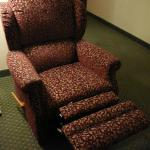 One of the 2 recliners