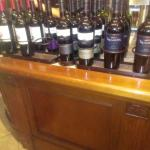 Great selection of wines
