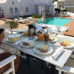 Breakfast!!! - personally served at your suite's terrace!