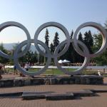 Whistler was the site of the winter Olympics