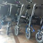Mimosa Hotel - front desk and bicycle rental