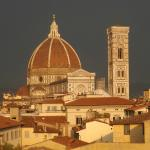 The Duomo from the terrace of the hotel Boscolo Astoria