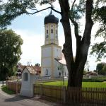 The church and the Gasthof