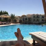 The pool in dawar el omda hotel. Small but quiet. Made for couple. A bit too warm in summer.