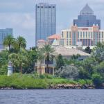 View of Tampa from the water