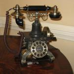 Lobby Phone - It was a working phone