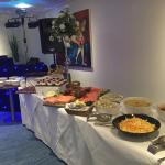 Fantastic food for our wedding reception