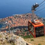 Cable Car above Old City