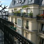 Hotel Andre Gill Paris - vue from the fifth floor