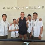Great staff at Amana villas , will miss you guys:)