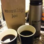 Morning Joe - when ordered the previous day is a very welcoming start