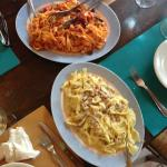 Two great authentic Tuscan pasta dishes