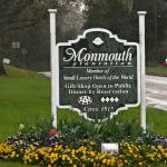 Sign in front of Monmouth Plantation