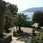 View from the villa steps onto the formal garden, Isola Madre