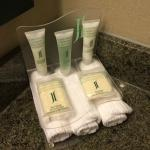 Baño. Amenities